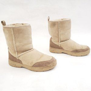 L.L. Bean Suede and shearling Winter Boots Size W8